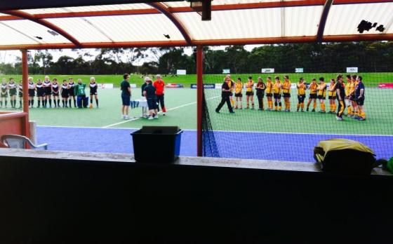 Hayley at the SA Women's Masters Hockey Championships